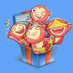 Monkey STiK Sticker Pack