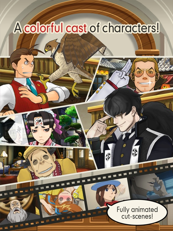 Ace Attorney: Dual Destinies Screenshots