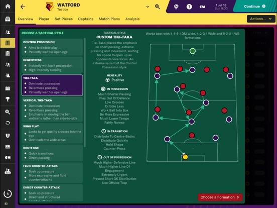 Football Manager 2019 Touch screenshot 1