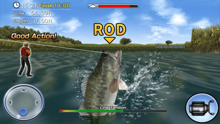 Bass Fishing 3D screenshot-4