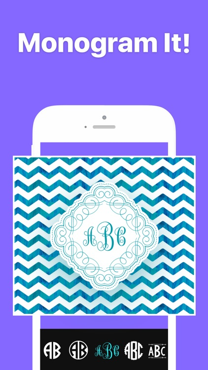 Monogram It - Wallpaper Maker screenshot-0