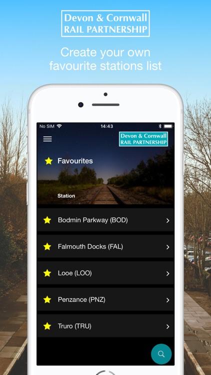 Cornwall Train Times screenshot-3