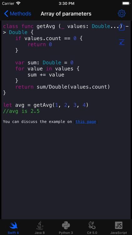 Code Recipes screenshot-3