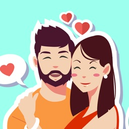You & Me Together – Couple Sticker