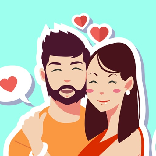 You & Me Together – Couple Sticker iOS App