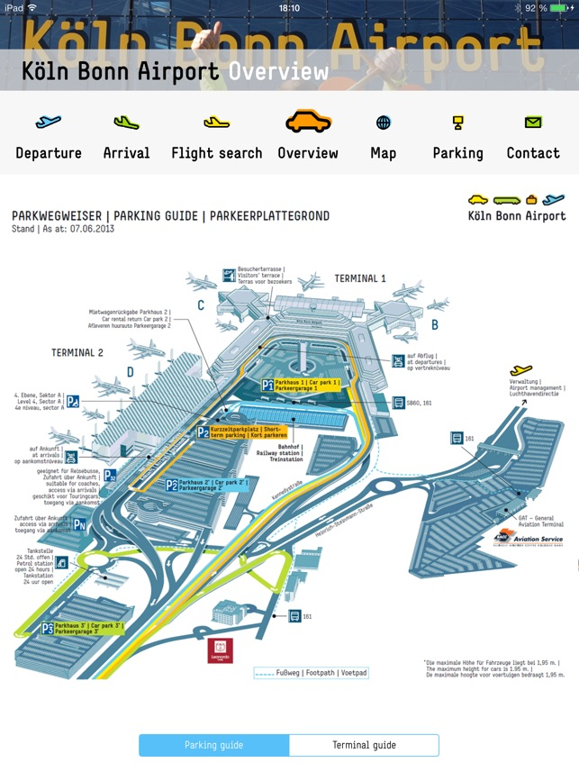 Cologne Bonn Airport on the App Store