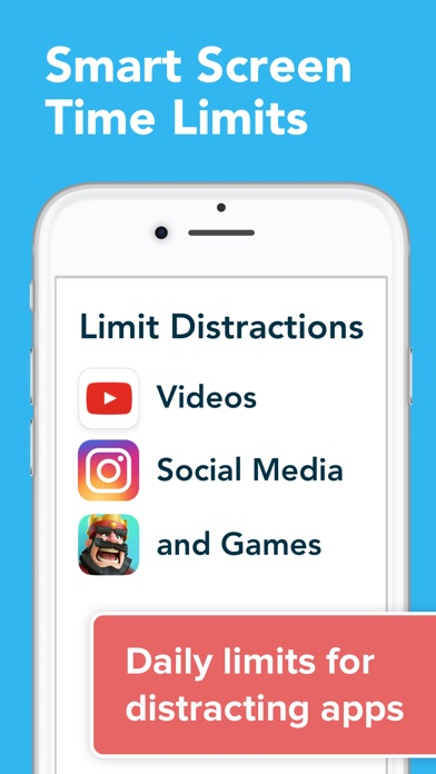 Parental Control App - unGlue Screenshot