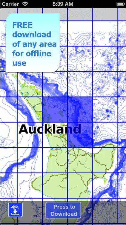 Aqua Map New Zealand - Pro HD screenshot-5