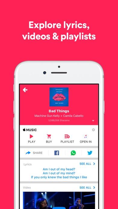 Shazam app image