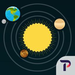 Ícone do app Solar System for iPad