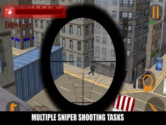 Sniper Street City Muti screenshot 4