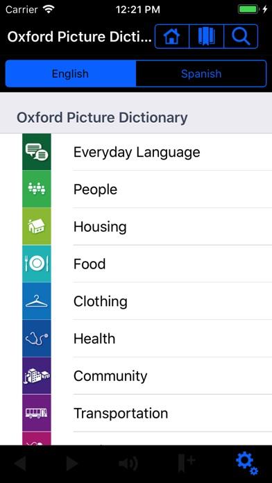 Oxford Picture Dictio... screenshot1