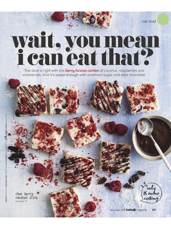 Taste.com.au Magazine-ipad-4