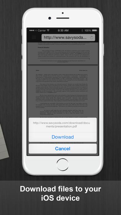 Documents Pro review screenshots