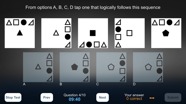 Abstract Reasoning Test (Lite)
