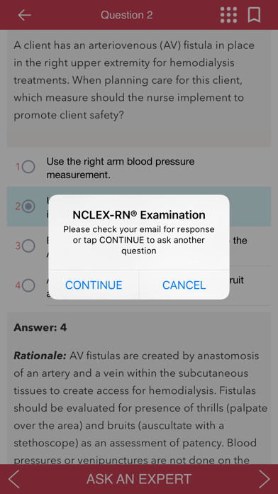 NCLEX RN Q&A Tutoring Saunders - App - Appinate