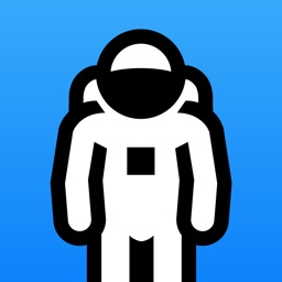Animated Astronaut Stickers