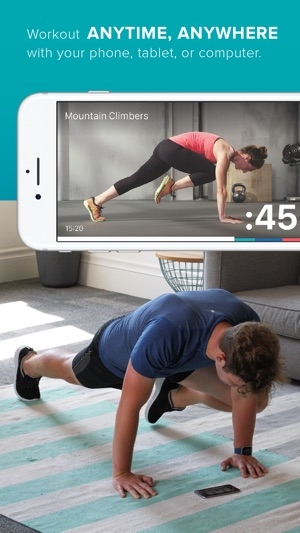 Fitbit Coach Screenshot