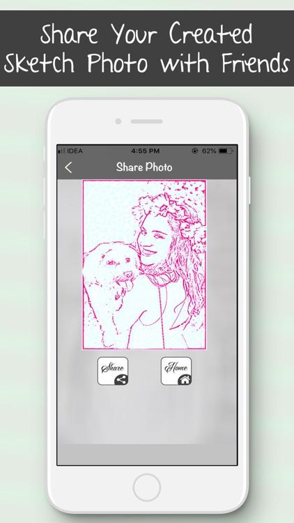 Colourful Sketch Photo Editor screenshot-5
