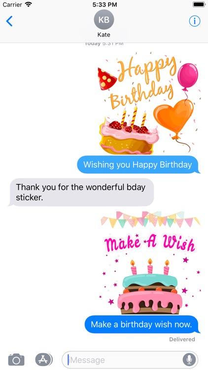 Birthday Greeting Wishes Card screenshot-5