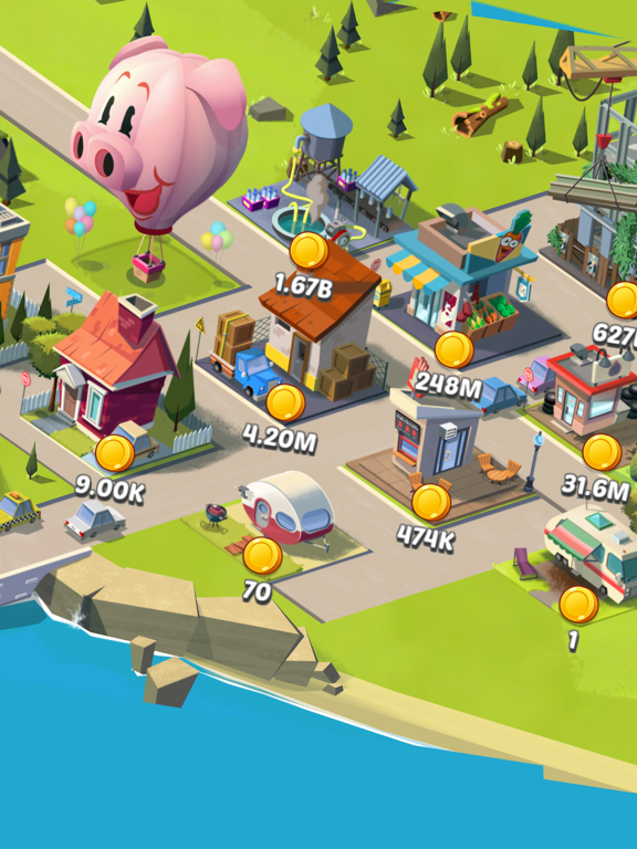 Idle City Empire на iPad