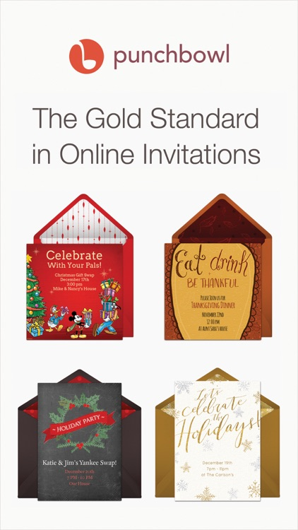 Punchbowl – Online Invitations screenshot-0