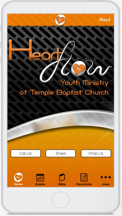 HeartFlow Youth Ministry App