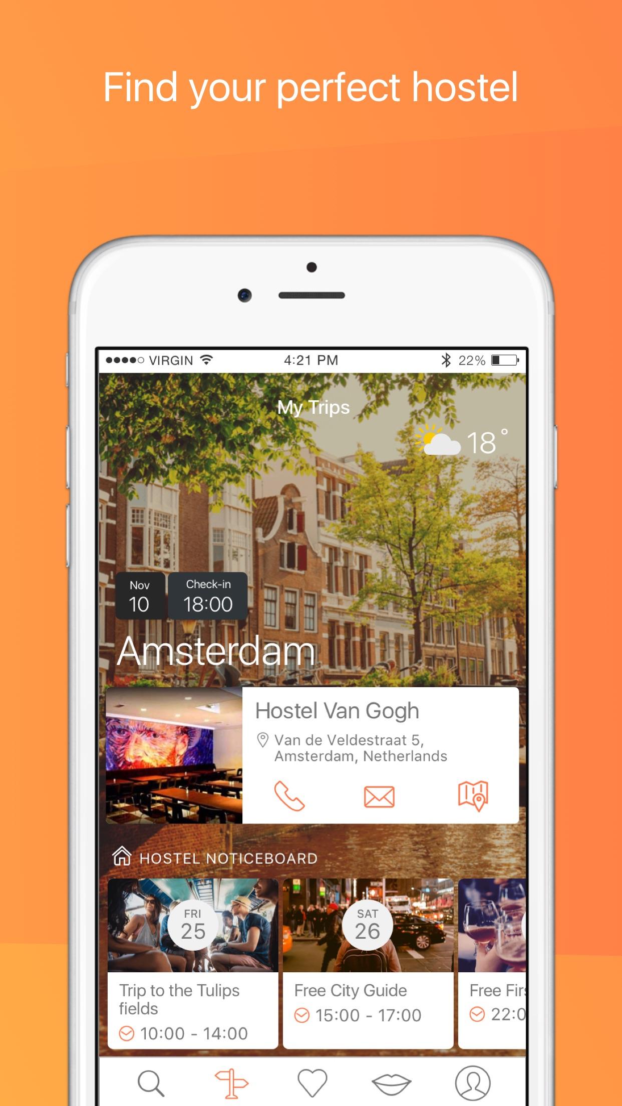 Hostelworld: Hostels & Hotels Screenshot