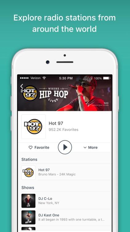 TuneIn Radio Pro - MLB Audiobooks Podcasts Music screenshot-4