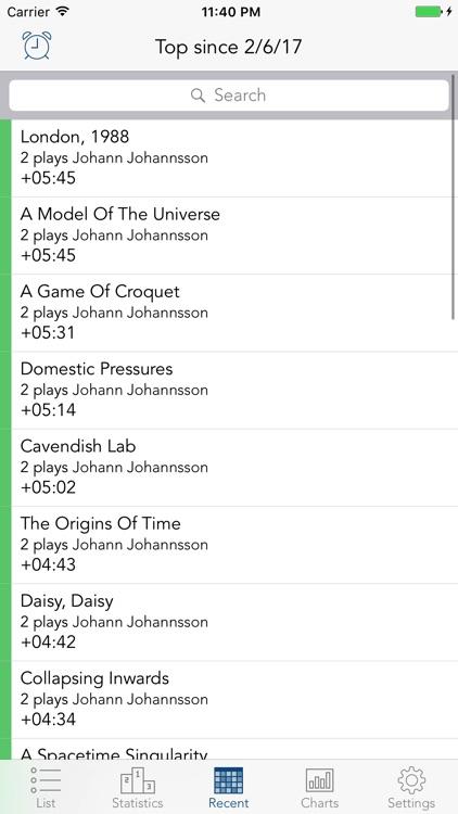 Play Time - music statistics screenshot-3