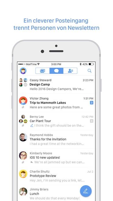MailTimeScreenshot von 2