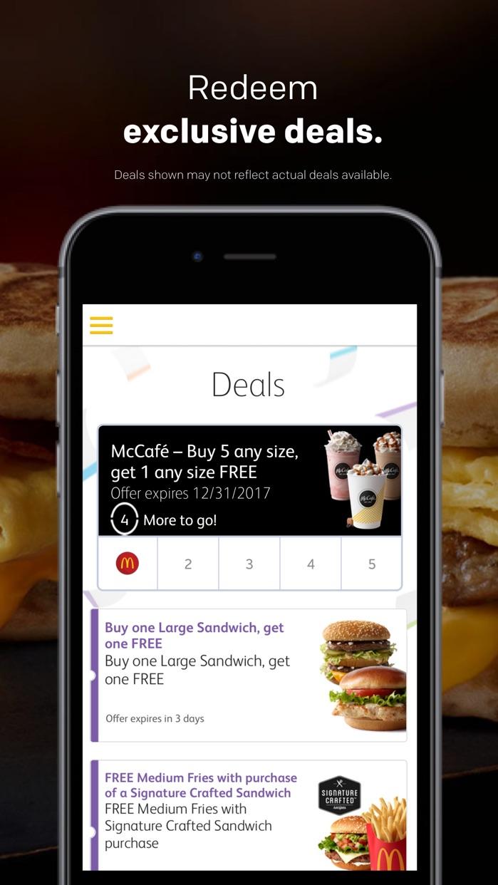 McDonald's Screenshot