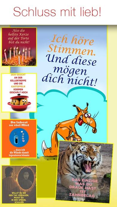Freche Sprüche - SPRUCHBILDER screenshot 1
