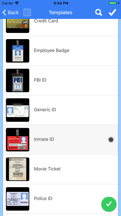 ID Card Generator screenshot one