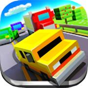 单机游戏(赛车):像素汽车城市逃杀大作战