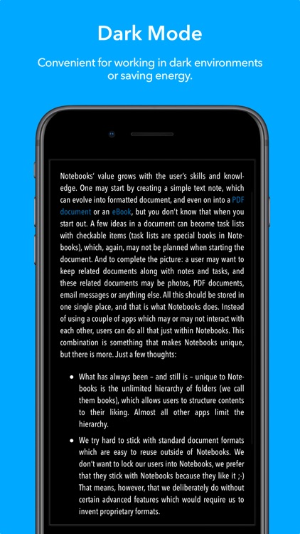 Notebooks - Write and Organize screenshot-4