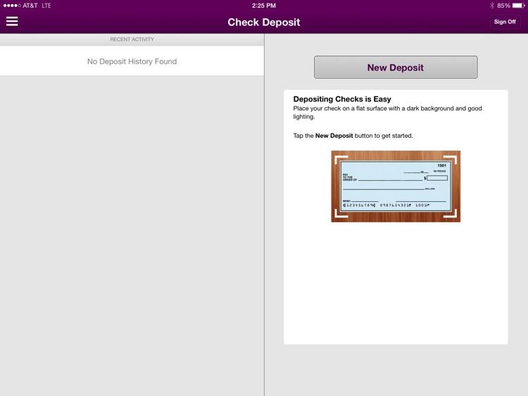 Santa Clara County FCU Mobile Version for iPad