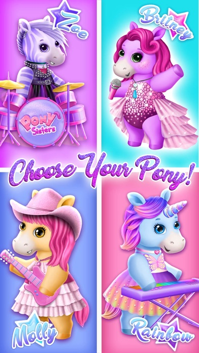 Pony Sisters Pop Music Band screenshot 5