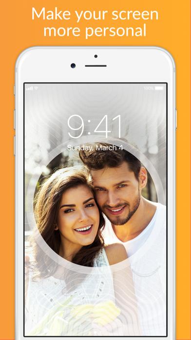 Lock Screens - Free Wallpapers & Background Themes Screenshot 5