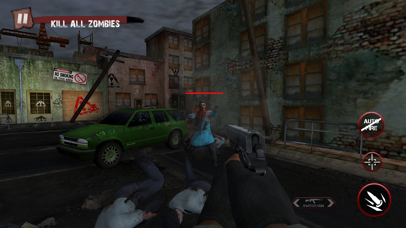 Zombie Ultimate Shooting War screenshot three