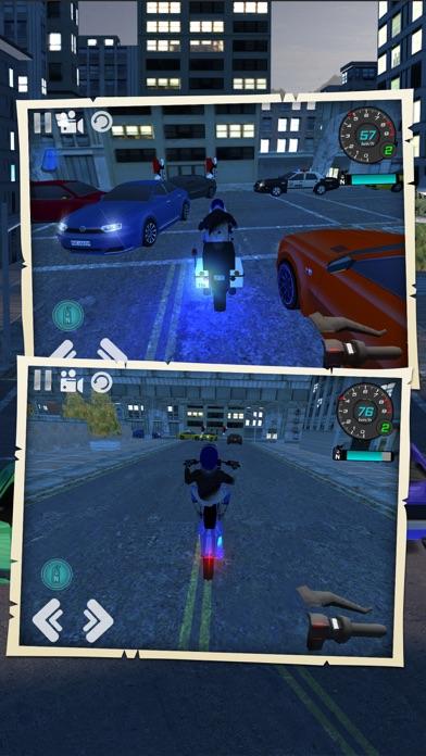 都市交通オートバイ運転シミュレータのおすすめ画像4