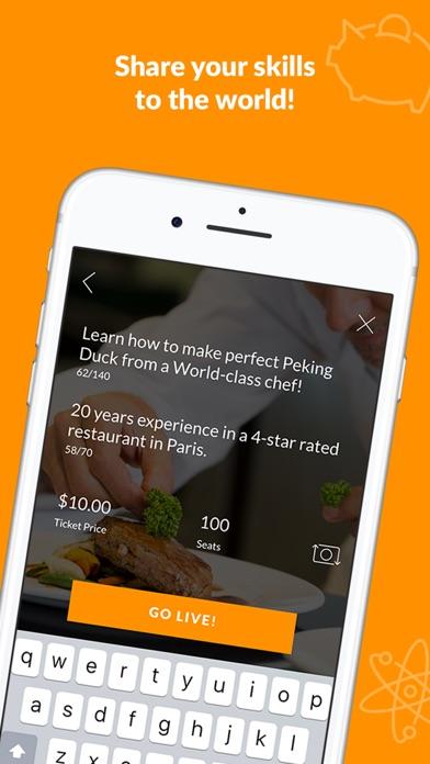 Askedoo: Live Q&A Video Chat Screenshot on iOS