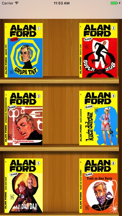 Alan Ford 1 (KLASIK) screenshot-0