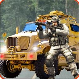 Army Rescue 3D Van Enemy Blast