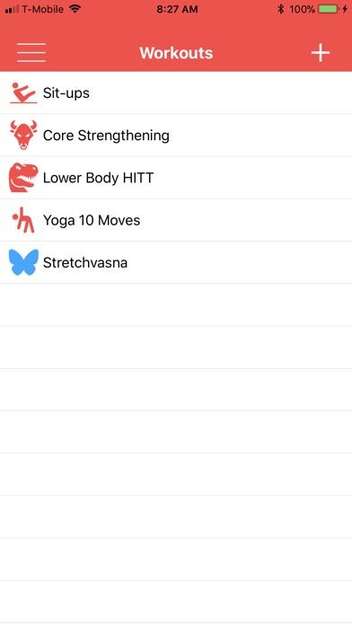 1 More Rep - Workout Planner Screenshots