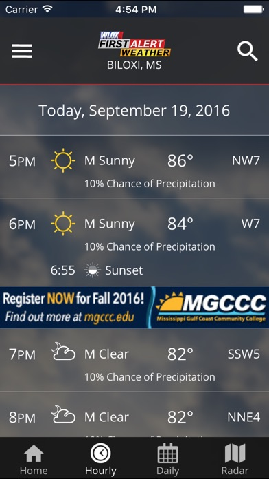 Wlox Weather review screenshots