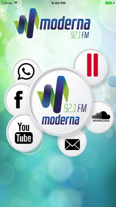 Rádio Moderna 92.1 FM screenshot one