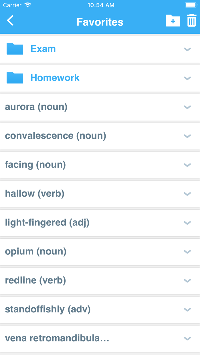 Advanced Dictionary&Thesaurus Screenshot
