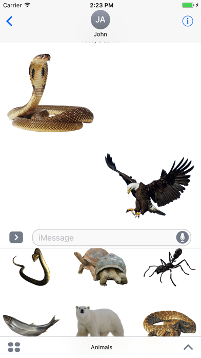 Animals Stickers Pro