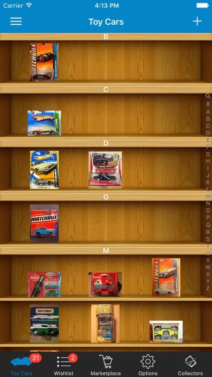 Toy Car Collector Database screenshot-3